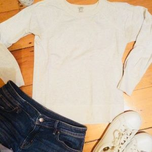 Jcrew fitted sweatshirt